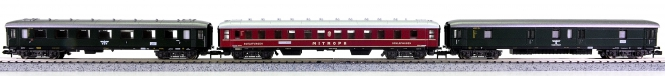 Fleischmann 8131/8134/8135 (N) – 3-tlg. Personenwagen-Set der DRG, Innenbel.