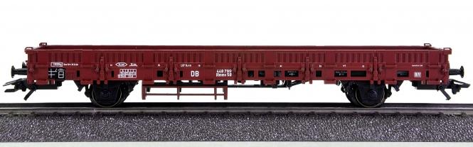 Märklin 46949 – Niederbordwagen Rlmms 58 der DB, beladen