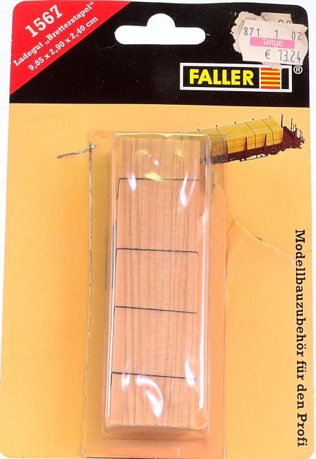 Faller 1567 (H0) – Ladegut Bretterstapel