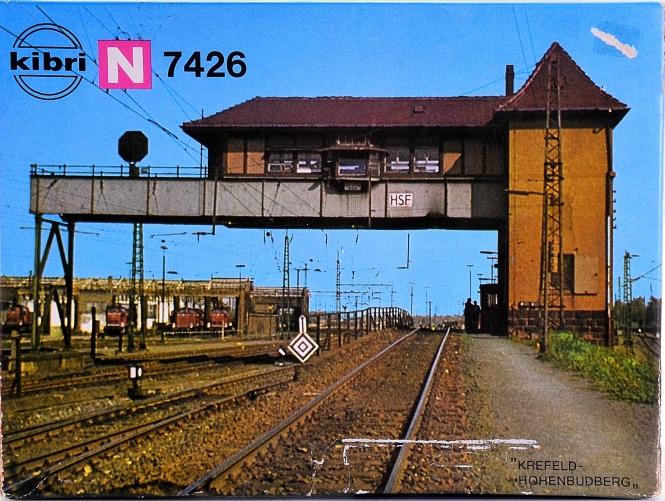 Kibri 7426 (N) – Bausatz Brückenstellwerk nach Vorbild Krefeld Hohenbudberg