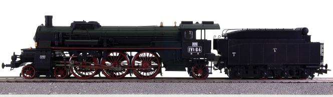 Liliput L104030 – Schnellzug-Schlepptemder-Dampflok Badische IVh