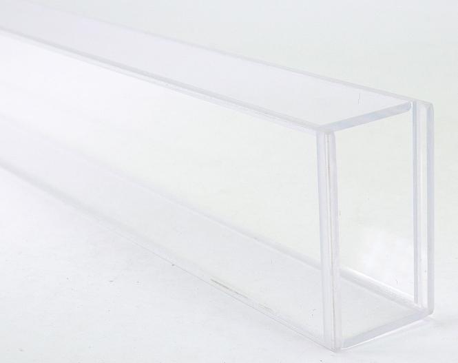 WAWIKO – Vitrine / Plexiglas-Röhre inkl. 2 Deckeln, 110 cm lang