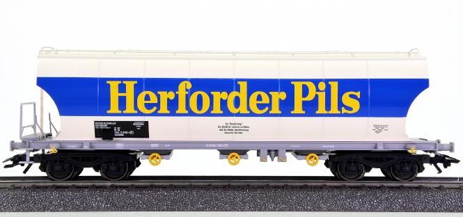 Märklin 46328-02 – Großraumsilowagen Herforder Pils der DB