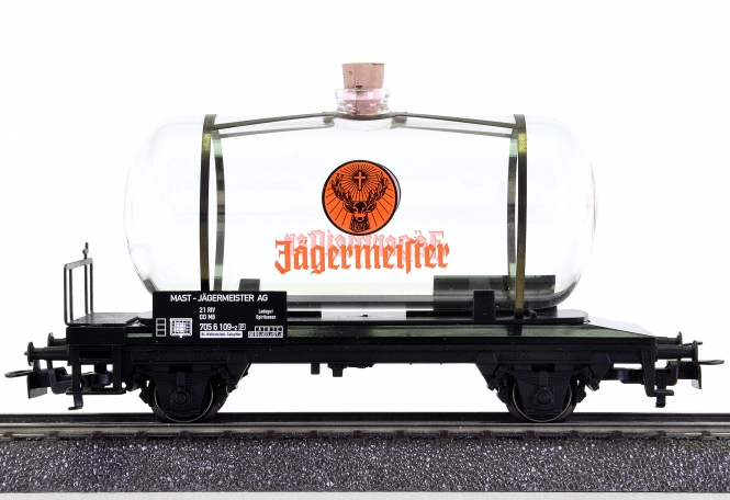 Märklin 44523.006 – Glas-Kesselwagen JÄGERMEISTER