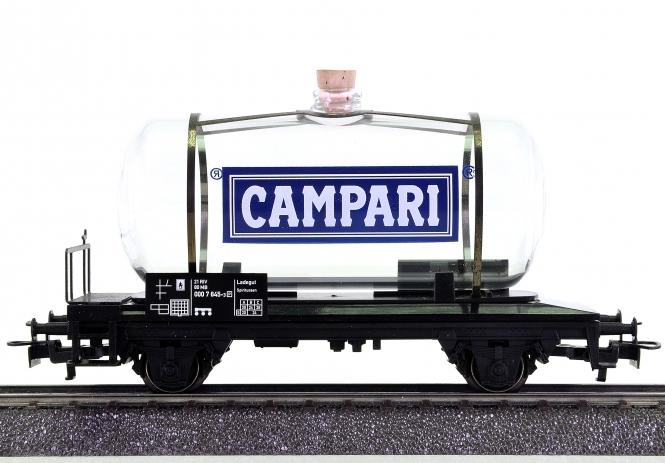 Märklin 44523.008 – Glas-Kesselwagen CAMPARI