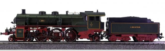 Märklin 37187-01 – Schlepptender-Dampflok S 3/6 der K.Bay.Sts.B., digital