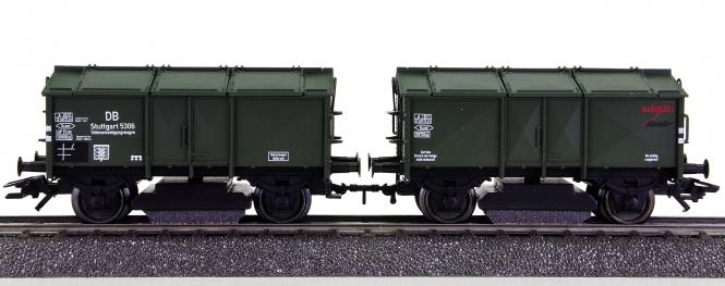 Märklin 46010 – Schienenreinigungswagen (Klappdeckelwagen) der DB