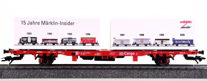 Märklin 94339 – Containerwagen Lgns 570 der DB AG, 15 Jahre Insider