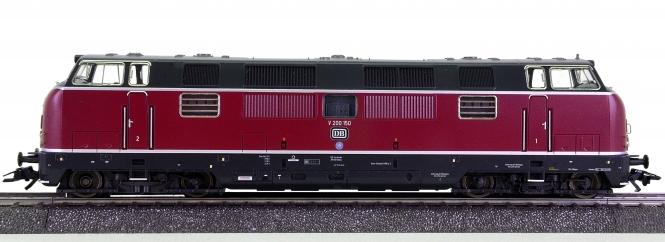 Märklin 39821 – Mehrzweck-Diesellok BR V200 der DB, digital (MM), Sound
