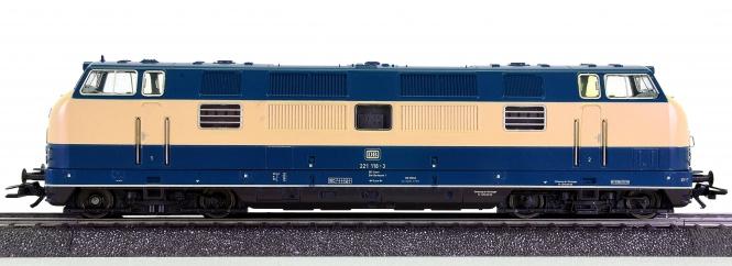 Märklin 3681 – Mehrzweck-Diesellok BR 221 (V 200) der DB, digital (MM)