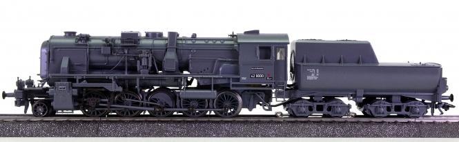Märklin 39160 – Dampflokomotive BR 42.90 Franco Crosti der DB, digital (MM)