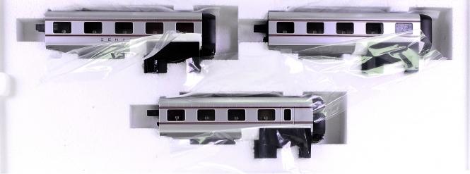 Märklin 41100 - Ergänzungwagen-Set Senator zum VT 10.5 (39100)