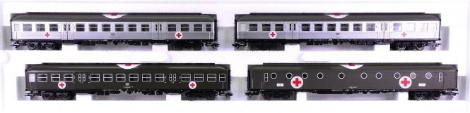 Märklin 42563 - Lazarettwagen-Set Silberlinge