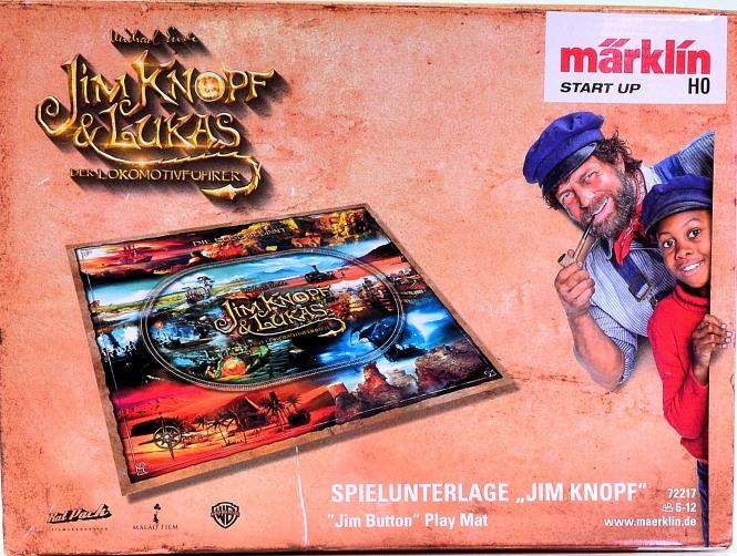 """Märklin 72217 - Spielunterlage """"Jim Knopf"""", ca. 130 x 150 cm"""