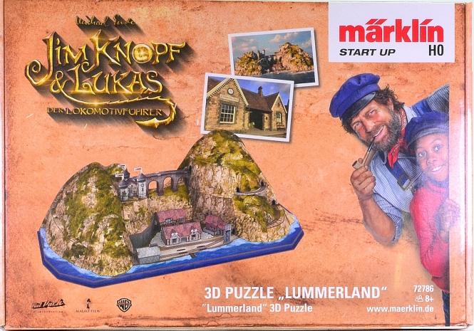 "Märklin 72786 - 3D Puzzle ""Lummerland"", ca. 65 cm x 27cm x 21 cm (LxBxH)"