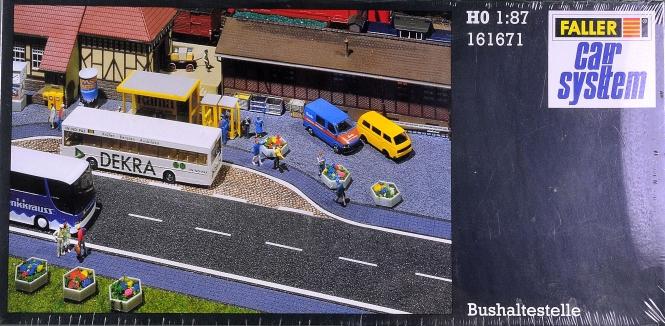 Faller 161671 - Car System Bushaltestelle