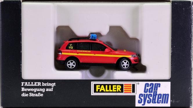 Faller 161544 - Car System VW Touareg Feuerwehr (WIKING) mit Blink-Elektronik