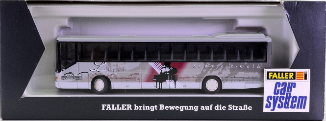 Faller 161413 - Car System Linienbus Setra S 315 (RIETZE) mit Beleuchtung