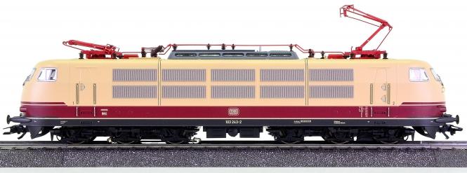 Märklin 39170 – Elektrolok BR 103 der DB, mfx + Sound + angetriebene Pantos