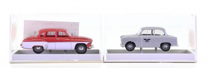 Brekina 27501, 27505 – Auto-Set, Trabant P50 und Wartburg 311