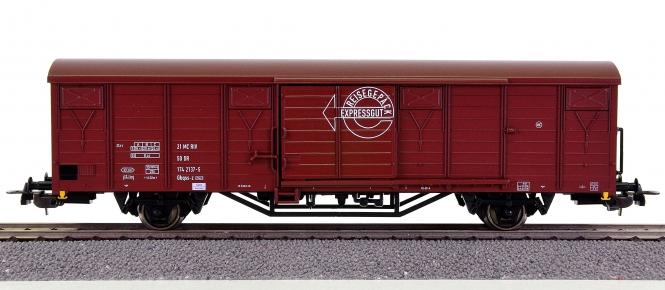Piko 54871 – Gedeckter Güterwagen Gbqss-z der (D)DR