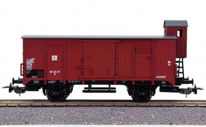 Piko 54015 – Gedeckter Güterwagen G der (D)DR