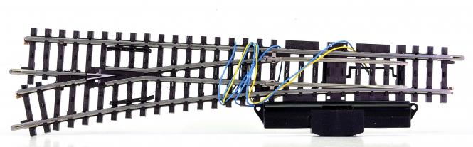 Märklin 22715 – K-Gleis schlanke Weiche links, mit elektr. Antrieb 7549
