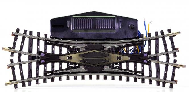 Märklin 2260 – K-Gleis doppelte Kreuzungsweiche, mit elektr. Antrieb