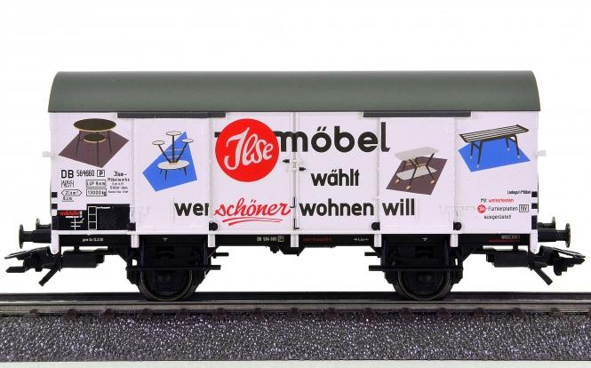 Märklin 48165 – Gedeckter Güterwagen der Ilse-Möbelwerke, eing. bei der DB