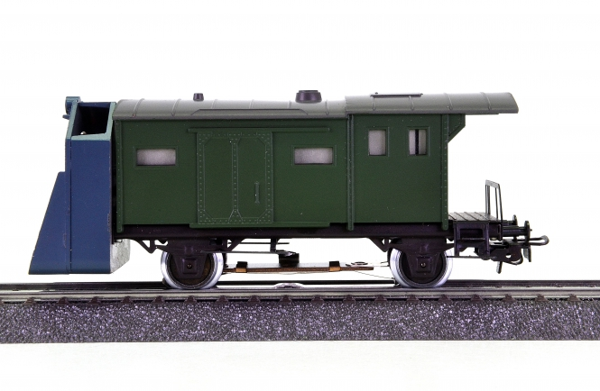 Märklin / Scholz Modelleisenbahn MS 01 S – Schneeschleuderwagen