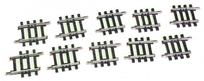 Märklin 2203 – 10 x Gerades K-Gleis Länge 1/6 30 mm