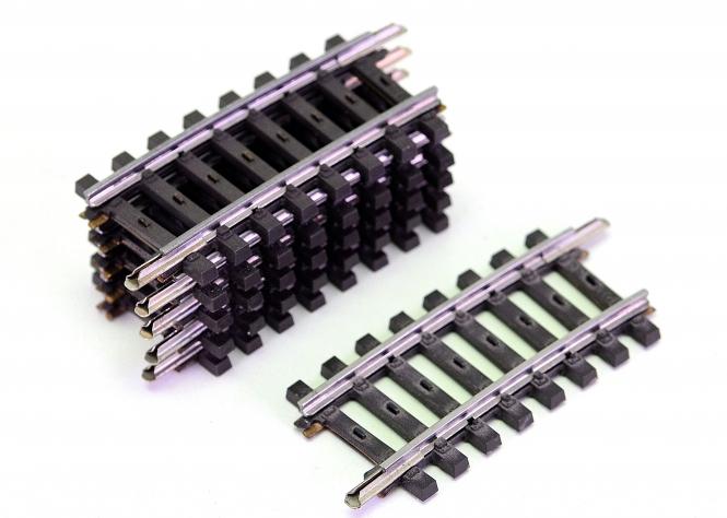 Märklin 2234 – 6 x Gebogenes Gleis 1/4 R2=424,6 mm 7,5°