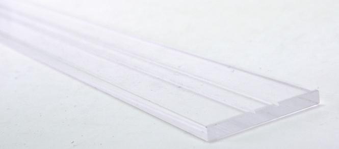 Plexiglas-Sockel / Präsentations-Gleis, Länge ca. 111 cm