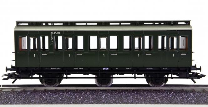Märklin 4200 – 1. Klasse Abteilwagen A3 Pr 14  der DB