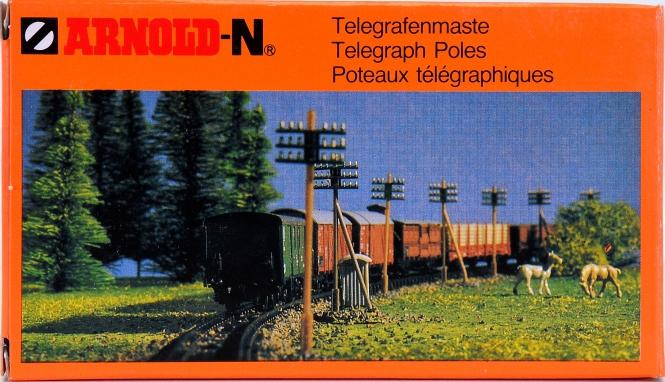 Arnold 6020 - Bausatz Telegrafenmaste