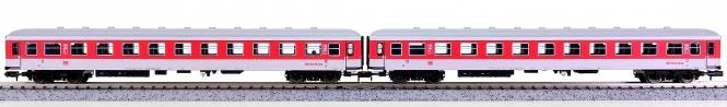 Minitrix 15854 – 2-teiliges Liegewagen-Set DB-NachtZug der DB AG