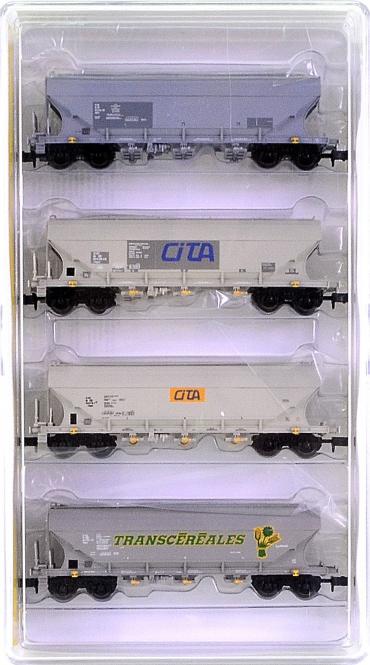 Minitrix 15169 – 4-tlg. Getreidesilowagen-Set der SNCB