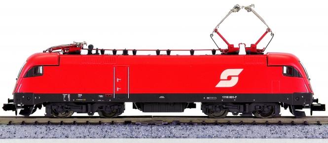Minitrix 12730 – Mehrzweck-Elektrolok BR 1116 der ÖBB
