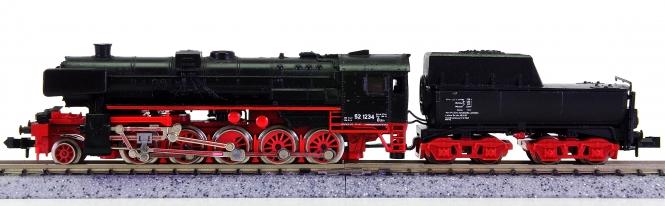 Minitrix 51 2051 00 – Schlepptender-Dampflok BR 52 der DB