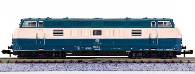 Minitrix 51 2079 00 – Mehrzweck-Diesellok BR 221 (V 200) der DB