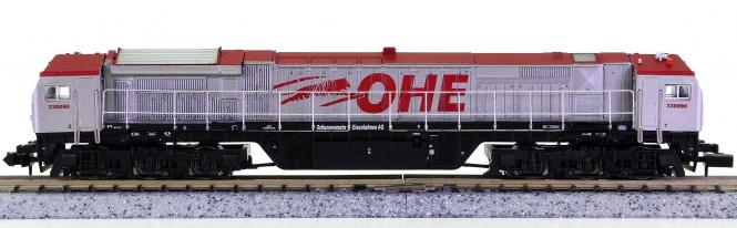 Mehano 58857 / T512 (N) – Mehrzweck-Diesellok 'Blue Tiger' der OHE