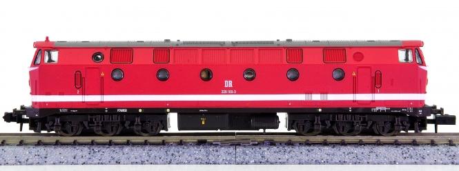 Brawa 1402 (N) – Mehrzweck-Diesellok BR 229 der DR (DDR)