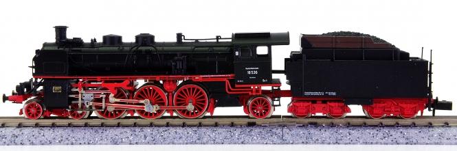 Arnold 2543 – Schlepptender-Dampflok BR 18 (ehm. S 3/6) der DRG, Rauchgenerator