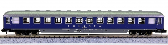 Roco 24491 (N) – 2. Klasse Liegewagen Bcüm TOUROPA der DB