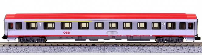 Roco 24431 (N) – 1./2. Klasse Eurofima-Schnellzugwagen ABmoz der ÖBB