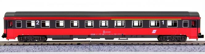 Roco 24341 (N) – 1./2. Klasse Eurofima-Schnellzugwagen Abmz der ÖBB