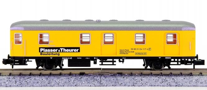 Electrotren 7514 K (N) - Bauzugwagen Plasser & Theurer