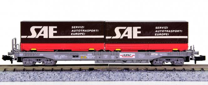 WABU 026.035 (N) – Einheitstaschenwagen der HUPAC / SBB, SAE Servizi