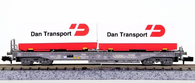WABU 026.011 (N) – Einheitstaschenwagen der HUPAC / SBB, DAN Transport