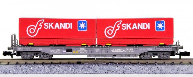 WABU 026.032 (N) – Einheitstaschenwagen der HUPAC / SBB, SKANDI